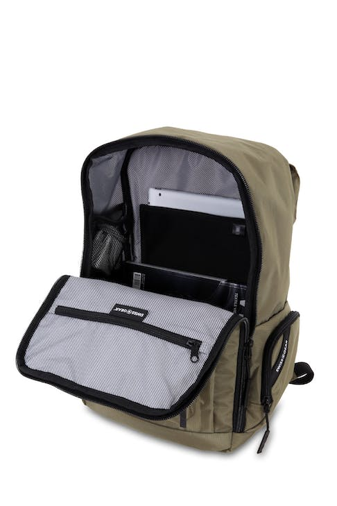 Swissgear 5657 Backpack Padded fleece lined laptop compartment