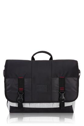 Swissgear 5659 Messenger Bag - White/Black Heather