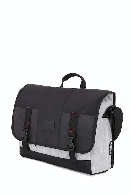 Swissgear 5659 Messenger Bag - White/Black Heather