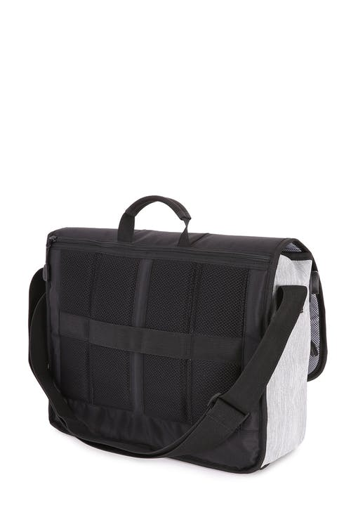 Swissgear 5659 Messenger Bag Rear full length zippered pocket
