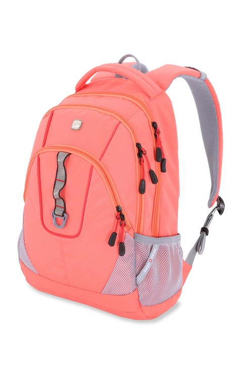 SWISSGEAR 5686 Computer Backpack - Unique Coral/Natural Red