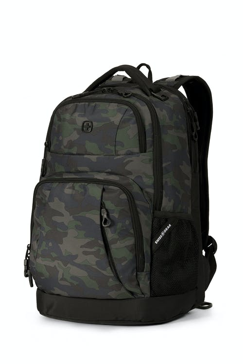 SWISSGEAR 5698 Backpack - Basic Camo Green/Black Cod
