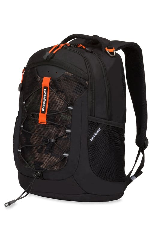 Swissgear 5725 Backpack - Black/Green Camo