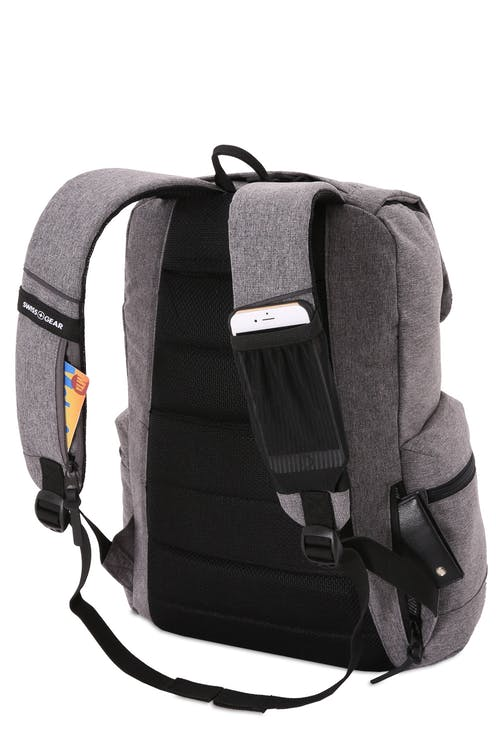 SWISSGEAR 5753 Laptop Backpack - Padded shoulder straps with hidden pocket