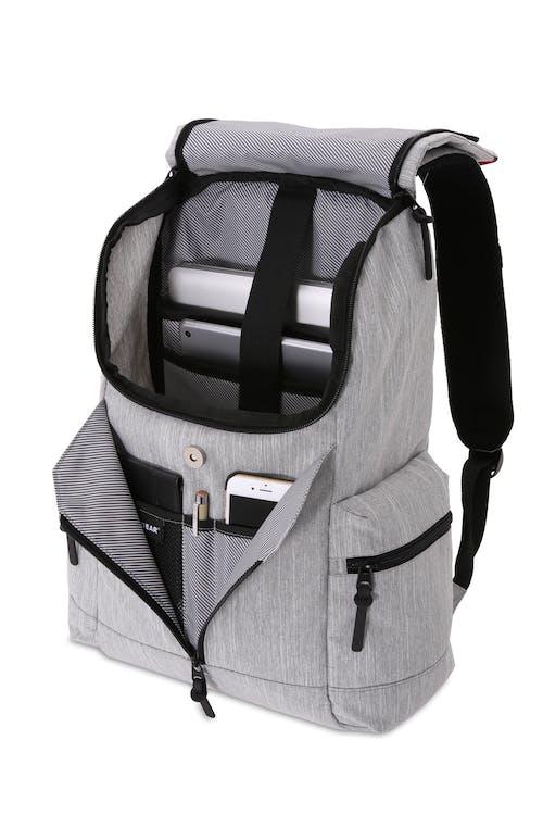 419cf1adfe1f Swissgear 5753 Laptop Backpack - Light Gray Heather/Black