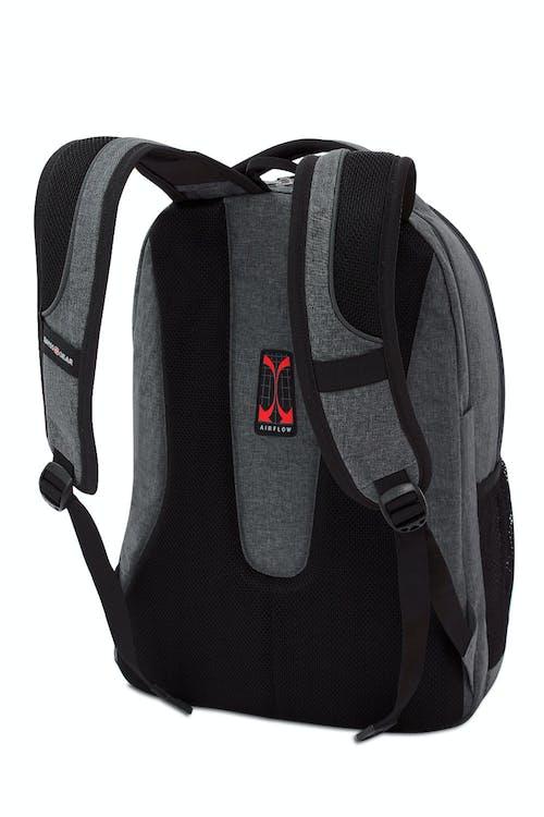 SWISSGEAR 5815 Laptop Backpack ergonomically contoured, padded shoulder straps