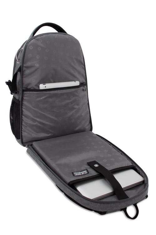 SWISSGEAR 5831 Scansmart Backpack TSA friendly ScanSmart laptop compartment