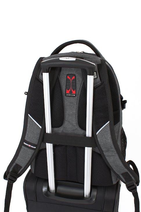 SWISSGEAR 5831 Scansmart Backpack Add-a-bag trolley strap