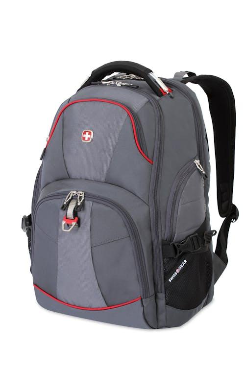 Swissgear 5863 ScanSmart Backpack - Gray/Red