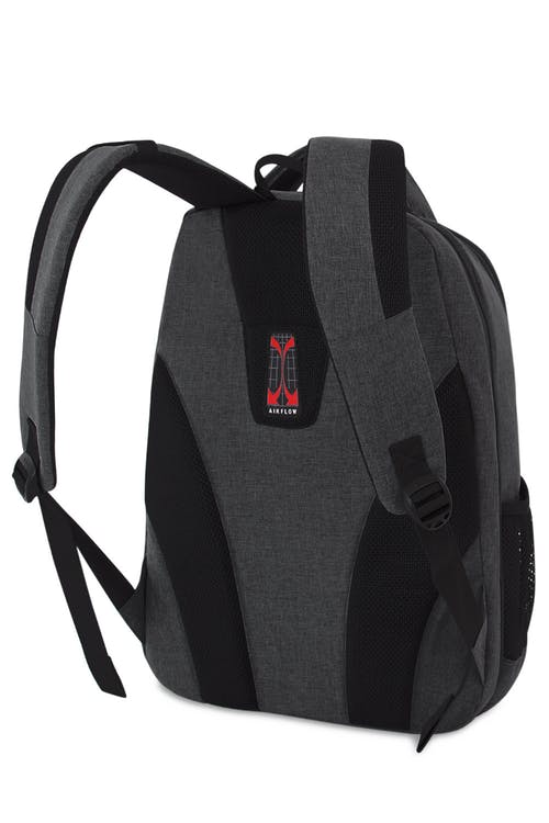 SWISSGEAR 5888 Scansmart Backpack ergonomically contoured, padded shoulder straps