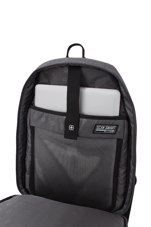 SWISSGEAR 5888 Scansmart Backpack Padded Laptop SCANSMART TSA Section