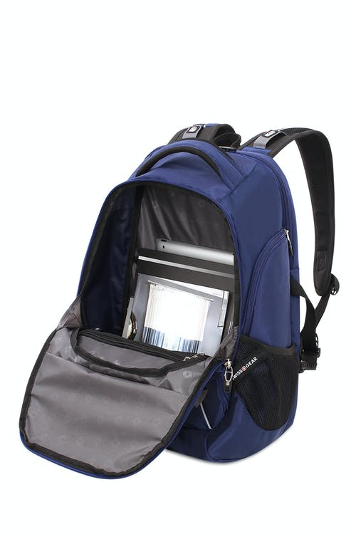 SWISSGEAR 5901 Laptop Backpack Internal zippered cord pouch