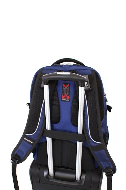 SWISSGEAR 5901 Laptop Backpack Add-a-bag trolley strap