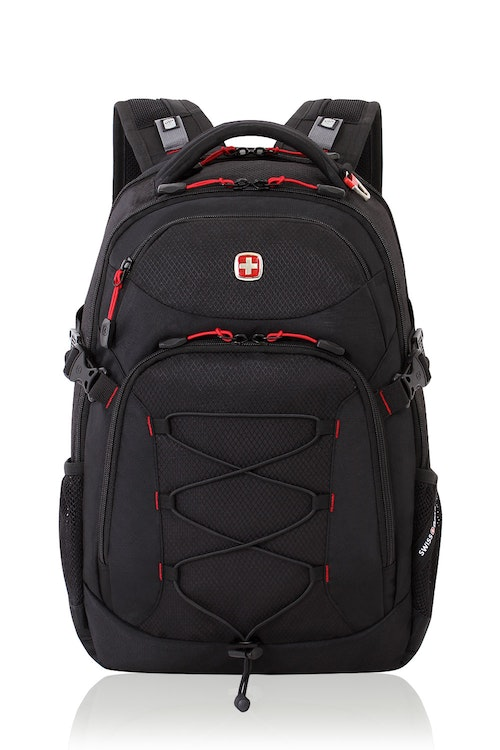SWISSGEAR 5960 Laptop Backpack - Black/Red