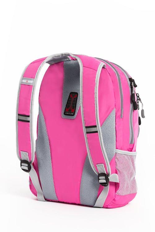 swissgear 5982 laptop backpack pink grey