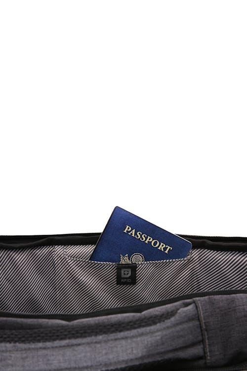 Swissgear 6067 Getaway 2.0 Big Backpack Hidden Passport Protection pocket