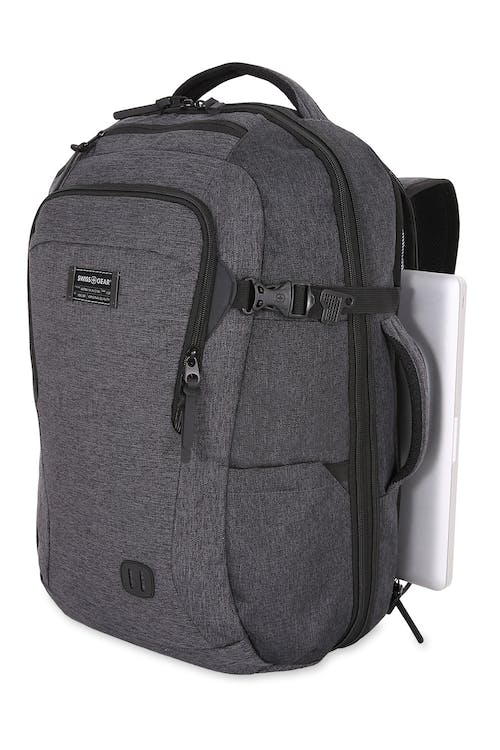 "Swissgear 6067 Getaway 2.0 Big Backpack Side laptop compartment to fit most 15"" laptops"