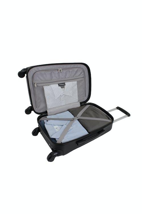 """SWISSGEAR 6072 19"""" Hardside Spinner Luggage - Open View"""