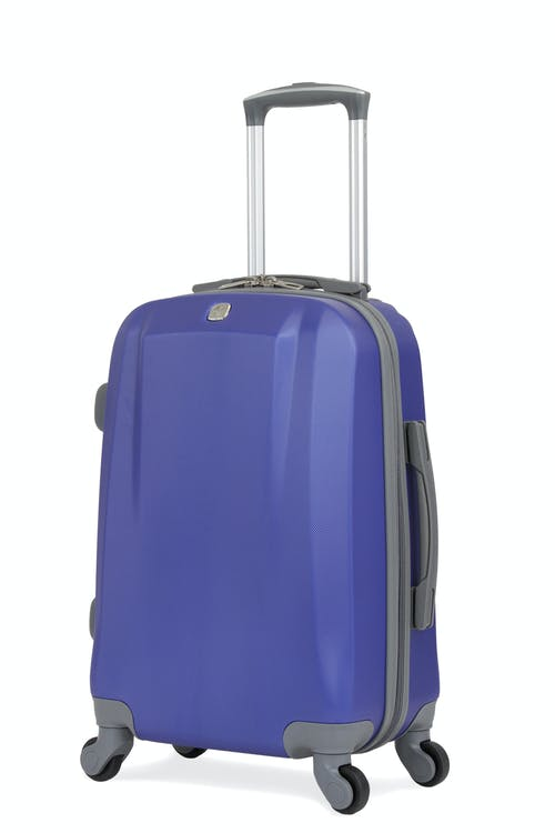 Swissgear 6072 19 Carry On Hardside Spinner Luggage Blue