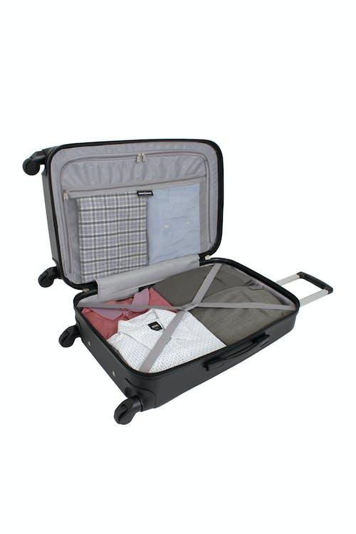 """SWISSGEAR 6072 23"""" Hardside Spinner Luggage - Open View"""
