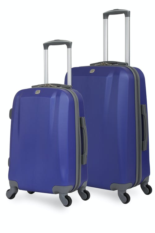 SWISSGEAR 6072 Hardside Spinner Luggage 2pc Set - Blue