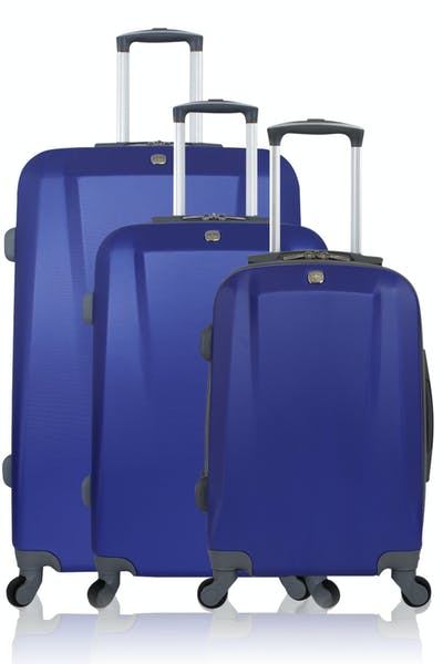 Swissgear 6072 Hardside Spinner Luggage 3pc Set - Blue