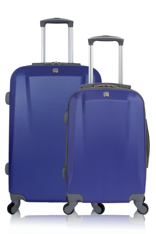 SWISSGEAR 6072 Hardside Spinner Luggage 2pc Set - Blue
