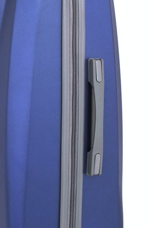 SWISSGEAR 6072 HARDSIDE SPINNER LUGGAGE CO-MOLDED SIDE HANDLE WITH SOFT RUBBER HAND GRIPS