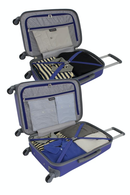 "SWISSGEAR 6072 19"" and 24"" HARDSIDE SPINNER LUGGAGE"