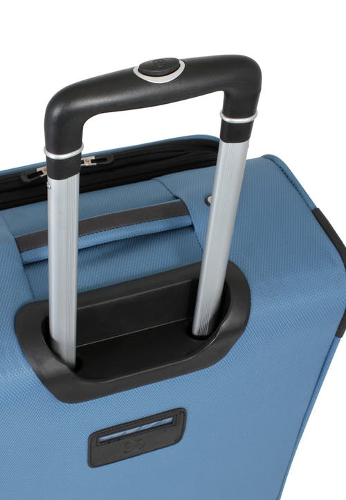 """SWISSGEAR 6110 20"""" Expandable Carry-On Spinner Luggage ALUMINUM TELESCOPIC PULL HANDLE"""