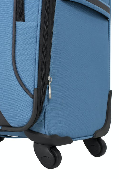 """SWISSGEAR 6110 20"""" Expandable Carry-On Spinner Luggage 360 DEGREE MULTI-DIRECTIONAL SPINNER WHEELS"""