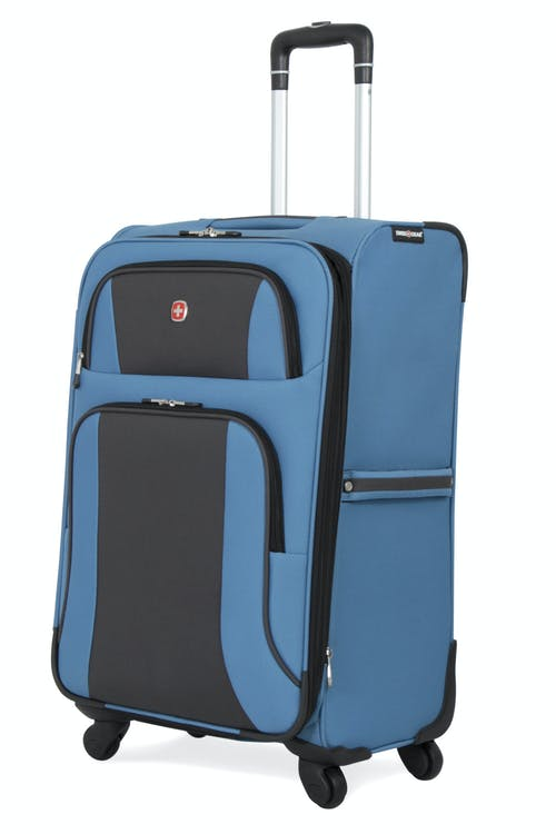 "SWISSGEAR 6110 24"" Expandable Spinner Luggage - Blue/Black"