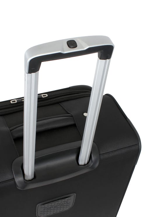 "SWISSGEAR 6126 20"" EXPANDABLE DELUXE CARRY-ON SPINNER LUGGAGE ALUMINUM LOCKING PULL HANDLE"
