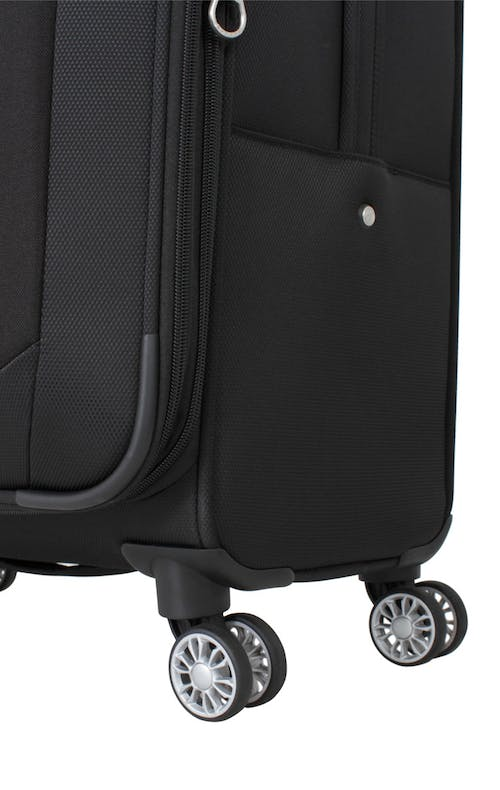 "SWISSGEAR 6126 20"" EXPANDABLE DELUXE CARRY-ON SPINNER LUGGAGE 360 DEGREE MULTI-DIRECTIONAL SPINNER WHEELS"