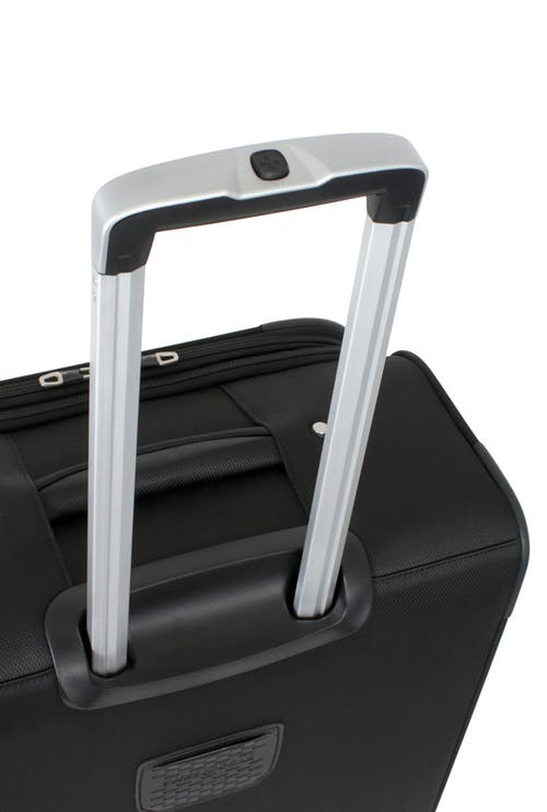 "SWISSGEAR 6126 24"" DELUXE SPINNER LUGGAGE ALUMINUM LOCKING PULL HANDLE"
