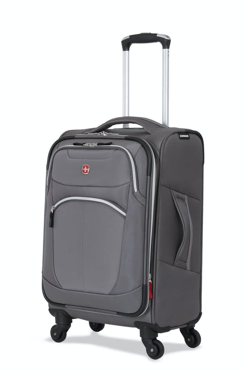 "SWISSGEAR 6133 20"" LITEWEIGHT SPINNER LUGGAGE - GREY"