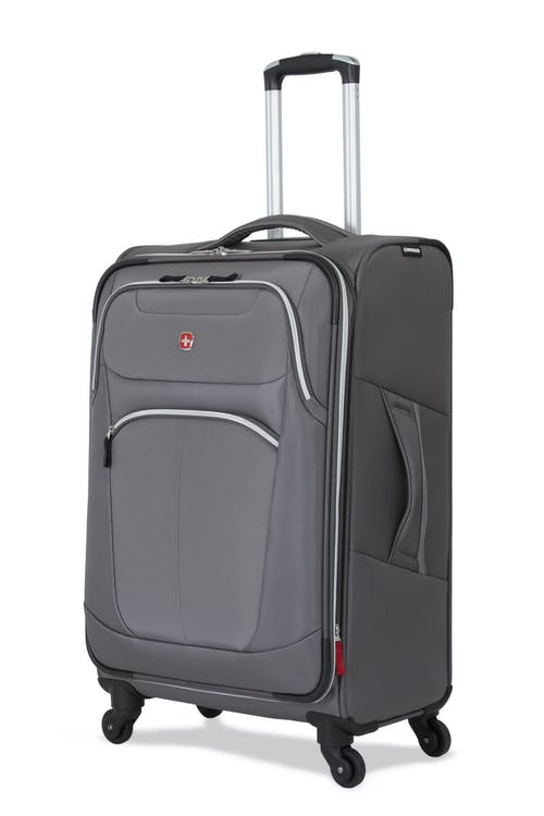 "Swissgear 6133 24"" Expandable Liteweight Spinner Luggage"