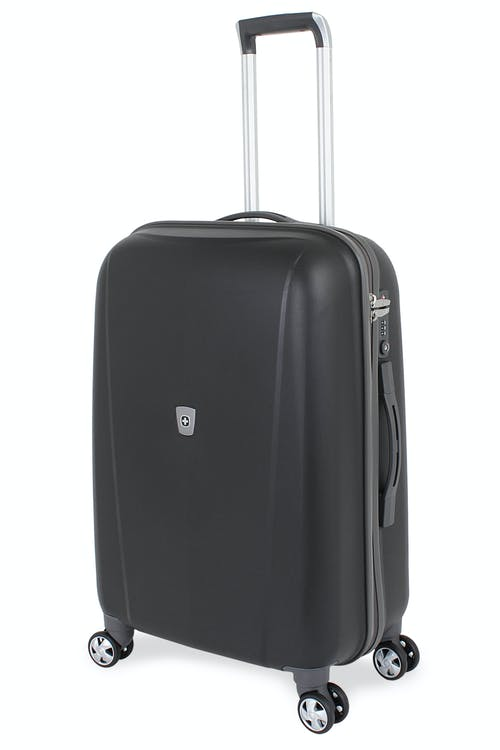 "SWISSGEAR 6150 23"" Hardside Spinner Luggage - Black"