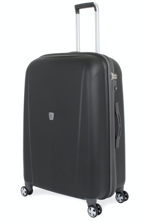 "SWISSGEAR 6150 28"" HARDSIDE SPINNER LUGGAGE - BLACK"