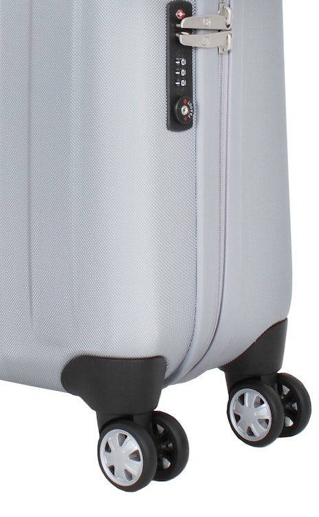 "SWISSGEAR 6151 20"" DELUXE HARDSIDE SPINNER LUGGAGE 360 DEGREE SPINNER WHEELS"
