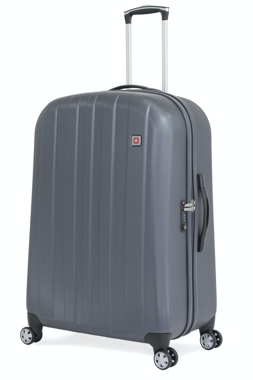 "SWISSGEAR 6151 28"" DELUXE HARDSIDE SPINNER LUGGAGE  - GREY"