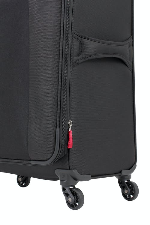 """SWISSGEAR 6165 24.5"""" EXPANDABLE LITEWEIGHT SPINNER LUGGAGE 360 DEGREE SPINNER WHEELS"""