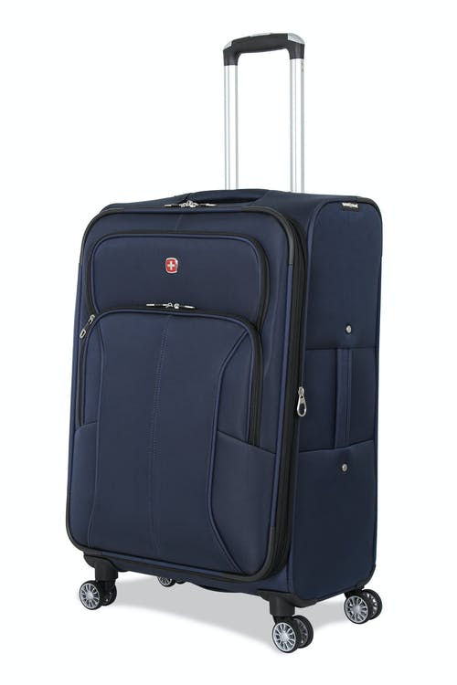 "SWISSGEAR 6182 24.5"" Expandable Deluxe Spinner Luggage - Blue"