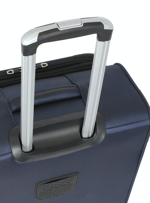 "SWISSGEAR 6182 24"" DELUXE SPINNER LUGGAGE AVIATION GRADE ALUMINUM TELESCOPING LOCKING HANDLE"