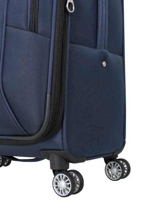 "SWISSGEAR 6182 24"" DELUXE SPINNER LUGGAGE 360 DEGREE MULTI-DIRECTIONAL SPINNER WHEELS"