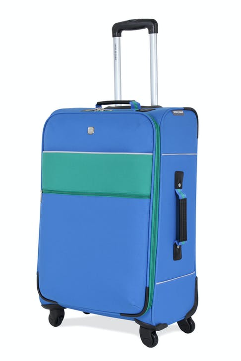 "SWISSGEAR 6186 24"" SPINNER LUGGAGE - BLUE/GREEN"