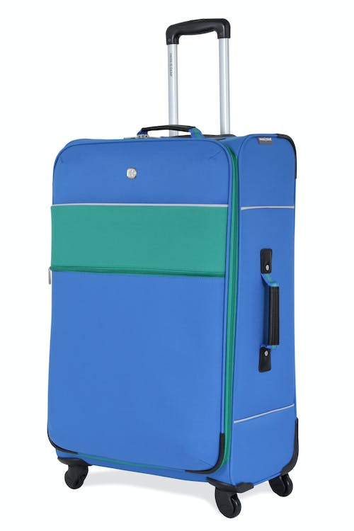 "SWISSGEAR 6186 28"" SPINNER LUGGAGE-BLUE/GREEN"
