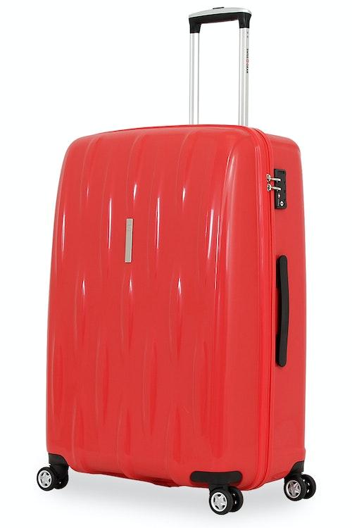 "SWISSGEAR 6191 28"" HARDSIDE SPINNER LUGGAGE - RED"