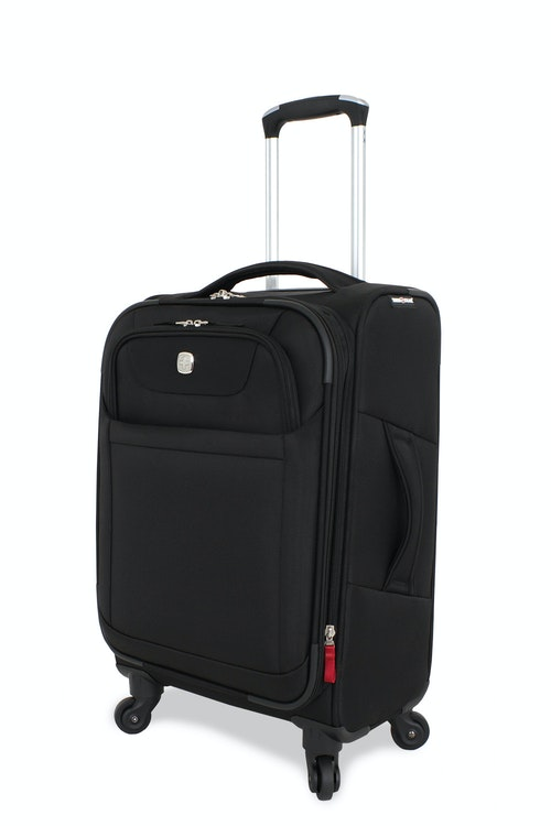"SWISSGEAR 6208 20"" DELUXE SPINNER LUGGAGE BLACK"