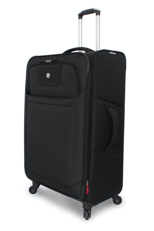 "Swissgear 6208 29"" Expandable Deluxe Spinner Luggage - Black"
